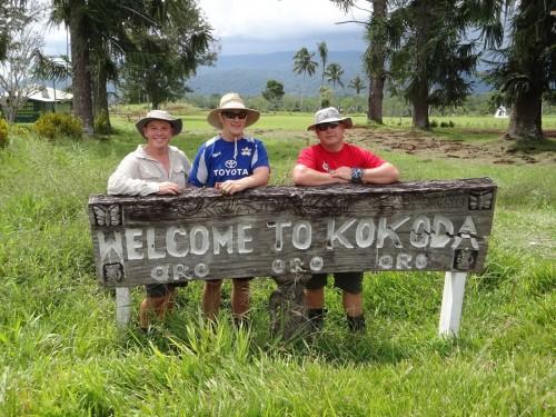 Wayne at the Kokoda Track Challenge